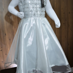 ….Beautiful Silver Maxi For Girls Article K112