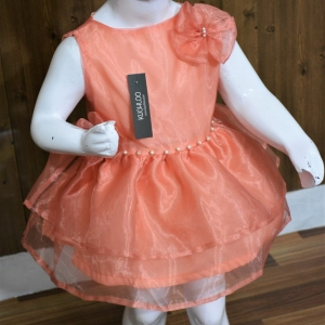 .Beautiful Tissue Frock For Girls Article K054