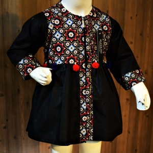 .Beautiful Cotton Frock For Girls Article K177