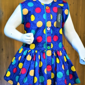 ..Beautiful Cotton Frock For Girls Article K176