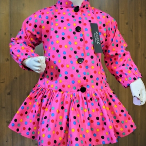 ..Beautiful Cotton Frock For Girls Article K189