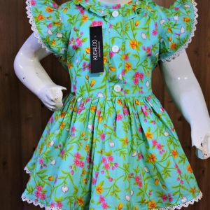 ……Beautiful Cotton frock For Girls Article K193