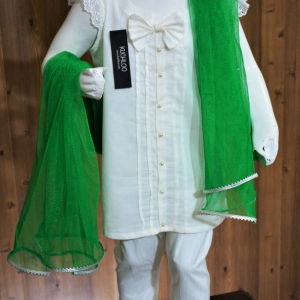 …..Beautiful Cotton 3 Piece suit For Girls Article K199