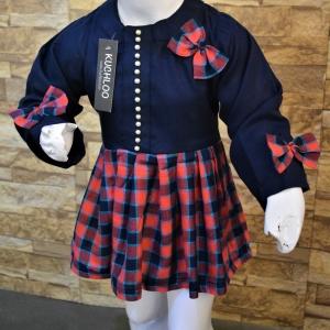 .Beautiful Woolen Frock For Girls Article KW016