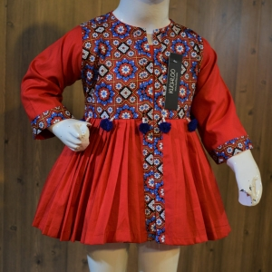 ……Beautiful Cotton Frock For Girls Article K210